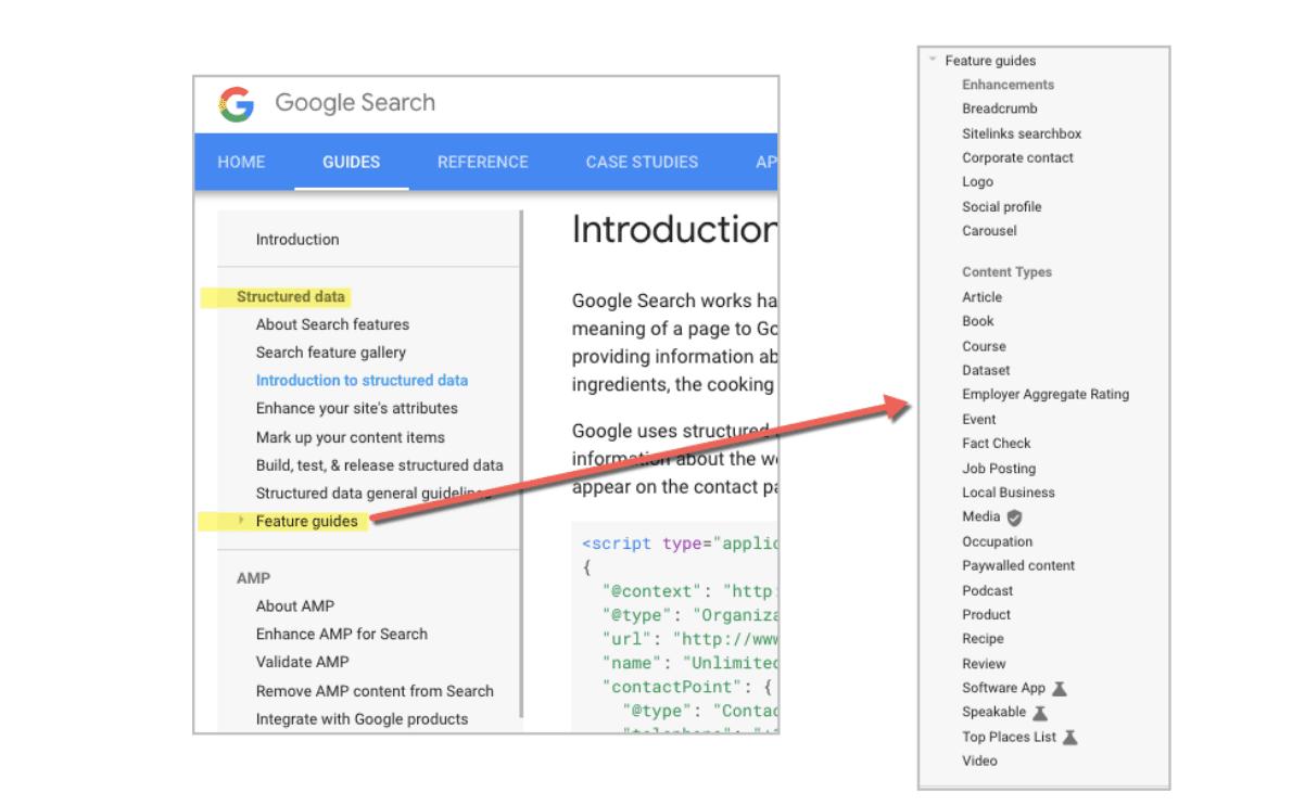 Schema-Types-Google